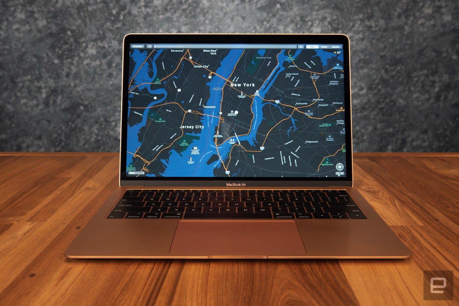 Apple laptop MacBook Air 2018 in Kenya 13-inch Retina display, 1.6GHz dual-core Intel Core i5, 128GB