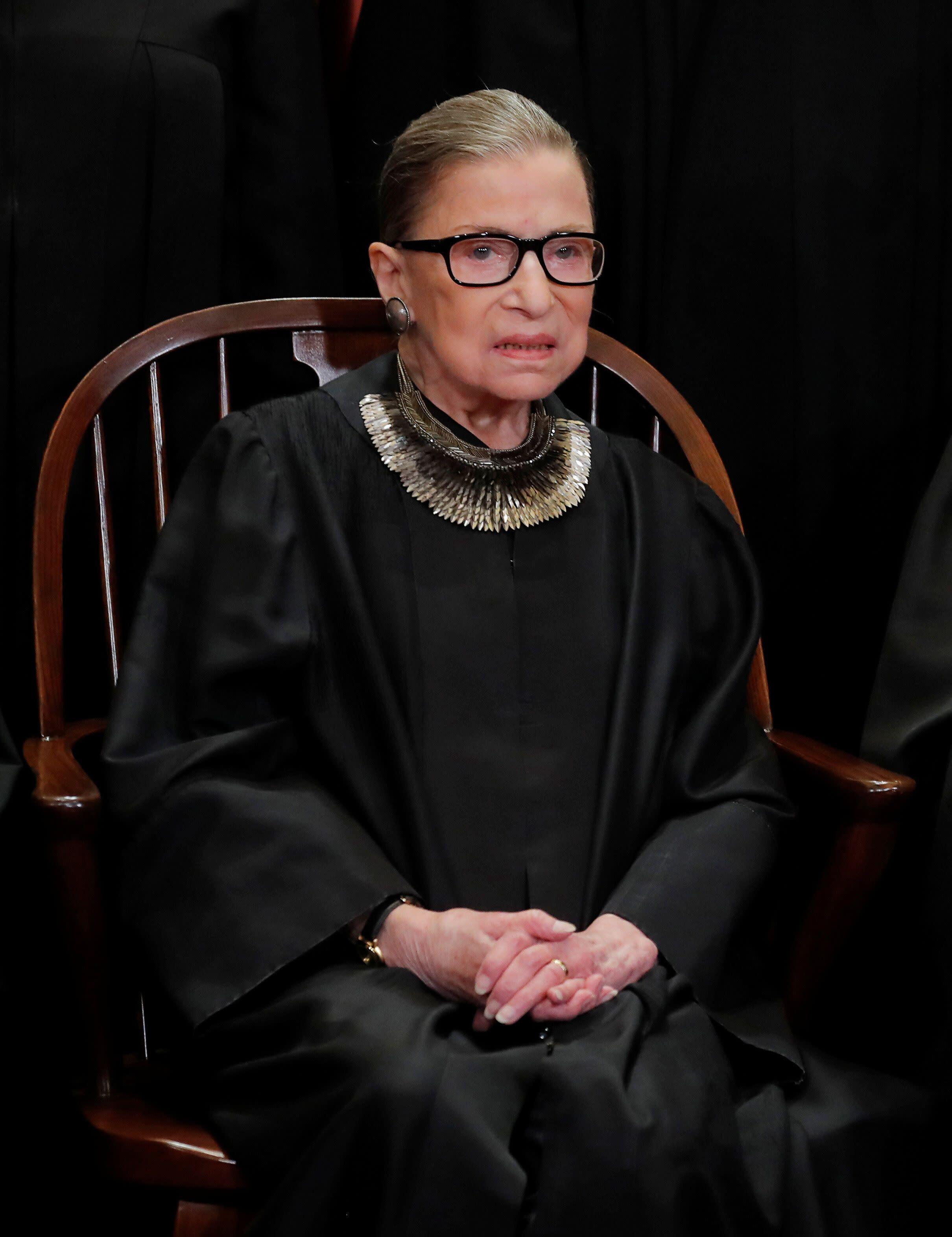 Ruth Bader Ginsburg recuperating at home after lung cancer ...  |Ruth Bader Ginsburg