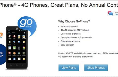 AT&T adds more data and a hotspot option to prepaid GoPhone plans