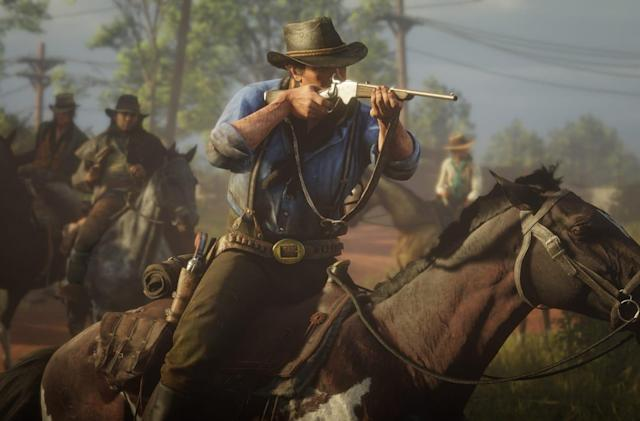 'Red Dead Redemption 2' is the fastest-selling game that isn't 'GTA V'
