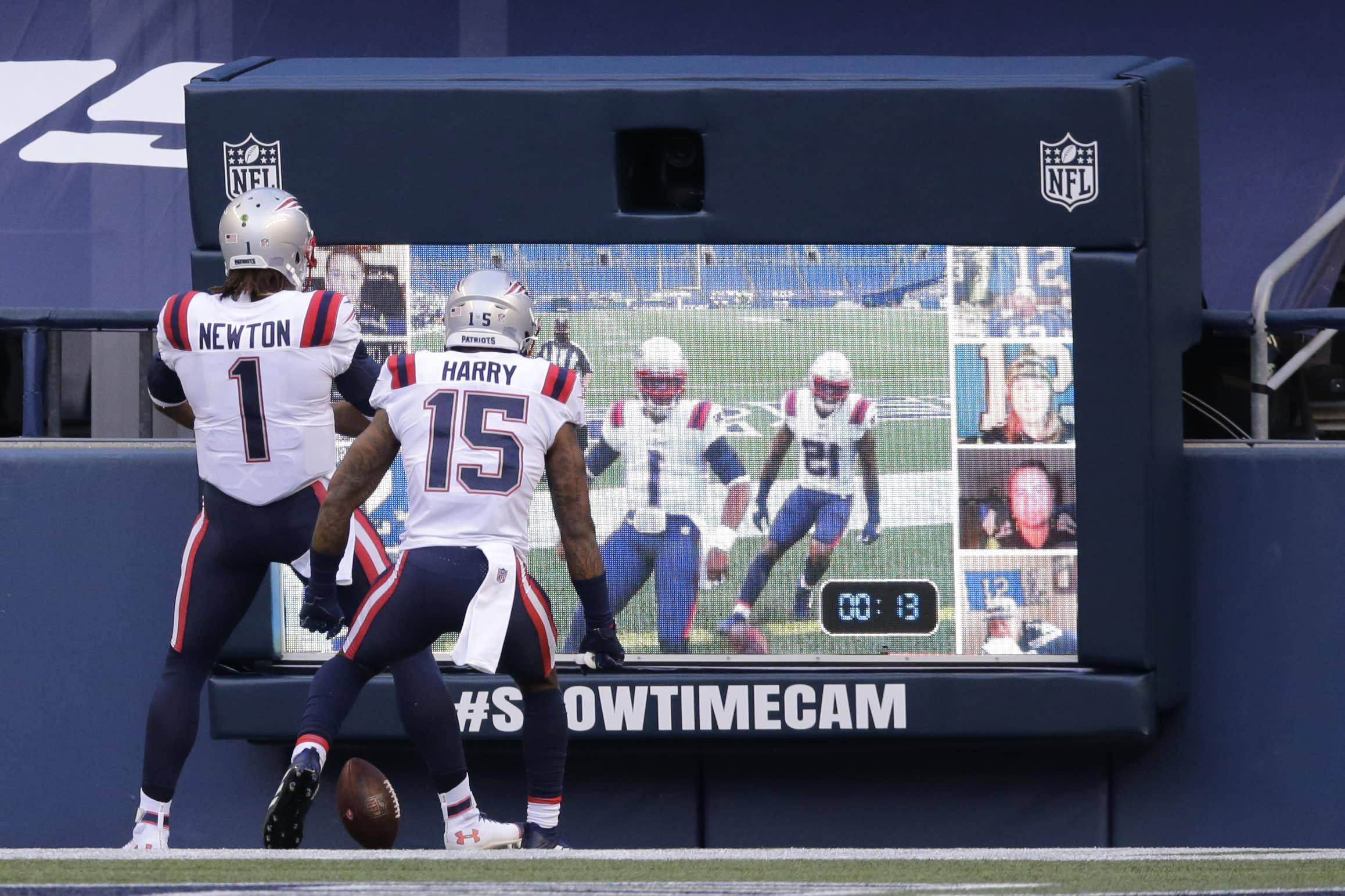 N'Keal Harry dispels narrative that Tom Brady wasn't supportive