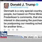President Trump postpones meeting with Danish prime minister