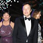 Elon Musk once again denied knowing Ghislaine Maxwell, saying she 'photobombed me once' in a widely-shared 2014 photo