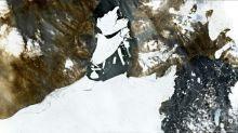 Meereisfläche in der Arktis schrumpft auf zweitgeringste Ausdehnung seit 1979