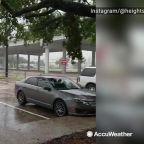 Imelda pours rain down across Houston