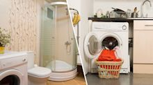 Bathroom or kitchen? Twitter users debate the best place to keep a washing machine
