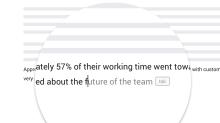 應用人工智能技術 Google Docs 測試智能撰寫功能