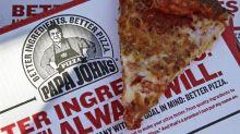 Papa John's reports tumbling sales