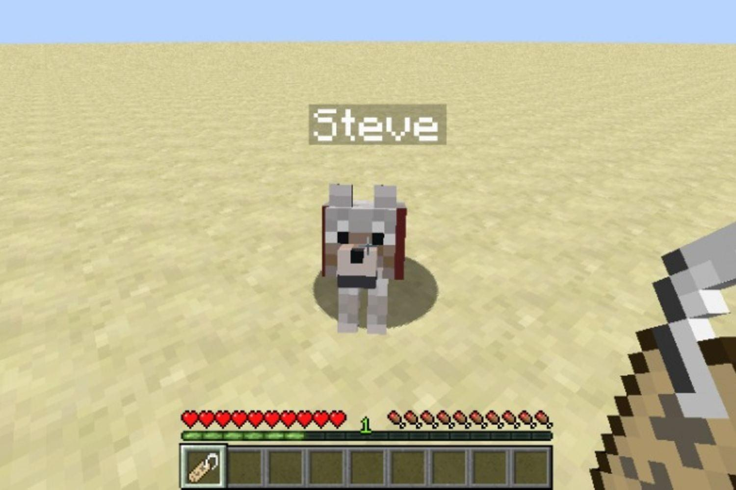 How to use a name tag in Minecraft