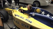 Larry Bird delivers Pacers' 2021 All-Star bid in an Indy car
