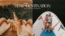 美得讓人窒息:有著旅遊癮的你,婚紗照一定要跟著今年「最佳旅遊婚照」這樣拍!