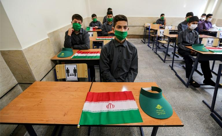 Iran resumed the school year after nearly six months