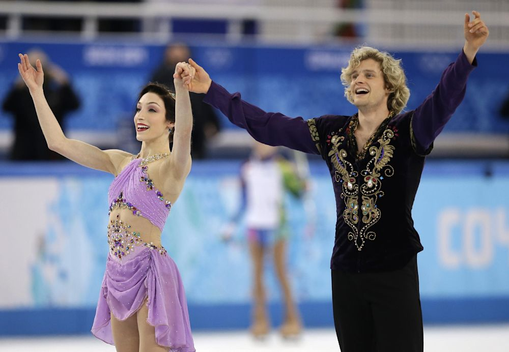 Davis, White of US win Olympic ice dance gold