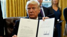 Trump signs order to move controversial oil pipelines forward