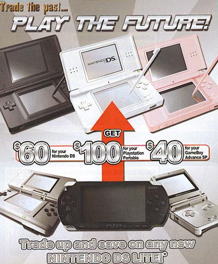 EB Games: PSP is pass, DS Lite is the future
