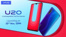 Vivo U20 with triple rear cameras, Snapdragon 675 to launch in India on Nov 22