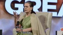 Modi govt hell-bent on making RTI extinct law, says Sonia Gandhi