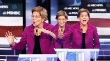 Elizabeth Warren en forme au 9e débat des primaires démocrates