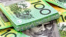 Australian dollar falls during hectic Friday session