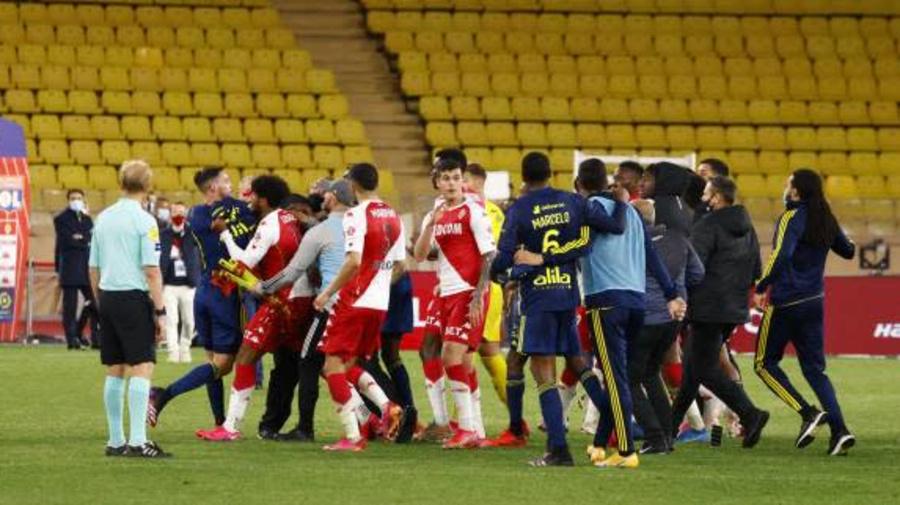 Foot - L1 - OL - Pour Rudi Garcia, les Lyonnais ont été victimes de la bousculade à Monaco