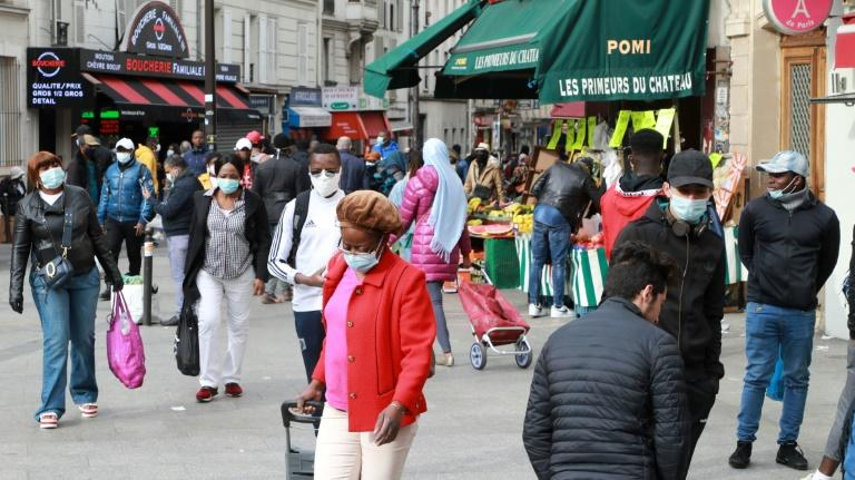 Paris's Goutte d'Or neighbourhood boasts over 300 shops and restaurants dedicated to African fashion and gastronomy