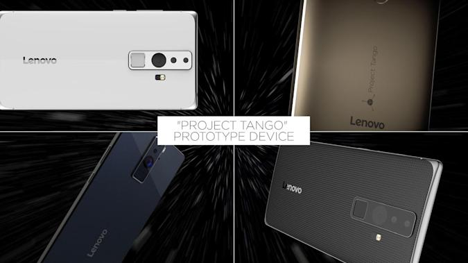 Google and Lenovo's 3D-scanning smartphone costs less than $500