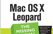 Mini-review of Mac OS X: The Missing Manual, Leopard Edition