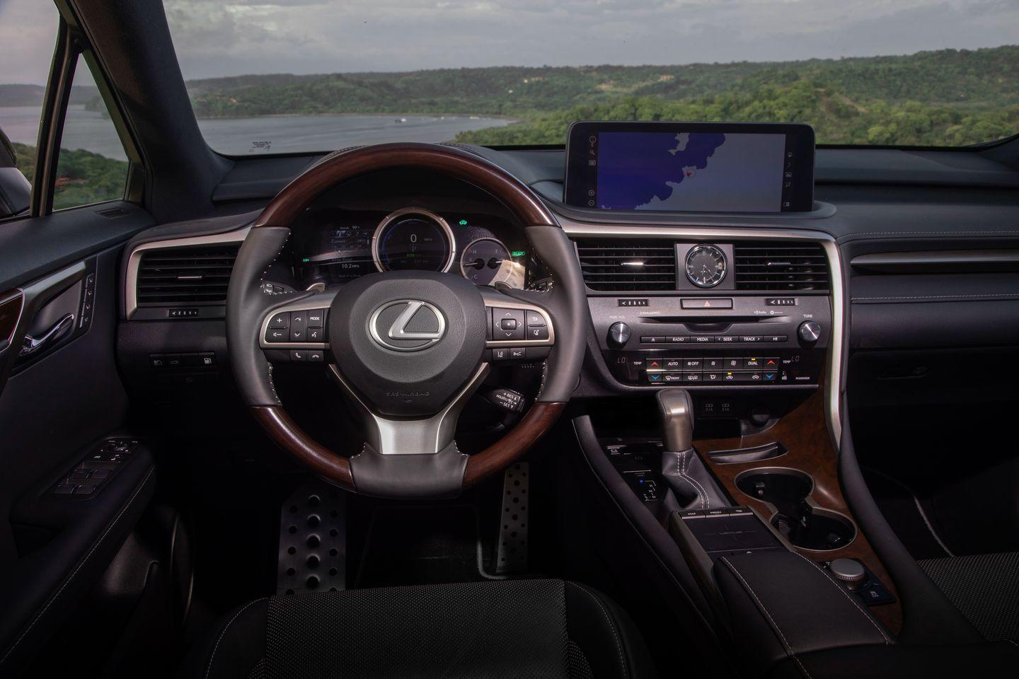 <p>An 8.0-inch infotainment screen is standard while a 12.3-inch unit is optional, and both can now be controlled via touch in addition to the touchpad on the center console.</p>