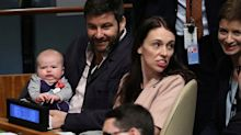 New Zealand PM's three-month-old 'First Baby' makes UN debut
