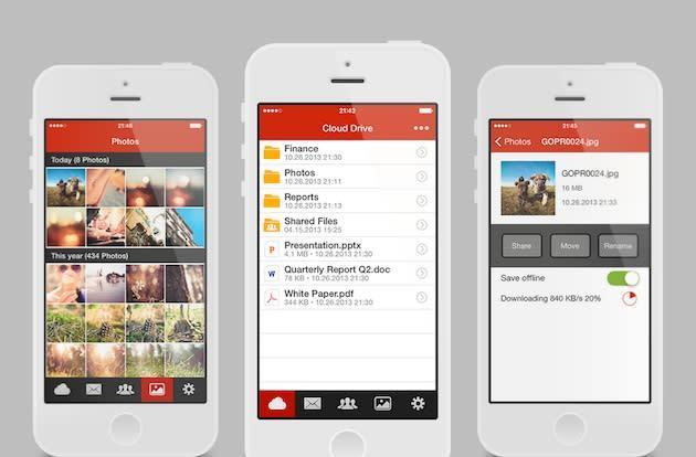 Kim Dotcom's Mega cloud storage service gets an official iPhone app
