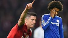Gossip: Chelsea make £100m Lewandowski 'No 1 target', Man Utd 'target unhappy Willian', Tottenham 'chase Martial'