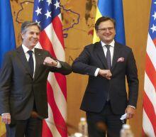 Ukraine wants aid, NATO support from Blinken's visit