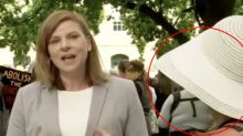 'How dare you': Reporter slammed for live cross during minute's silence