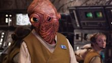 Admiral Ackbar actor calls his 'Star Wars: The Last Jedi' death a 'joke'
