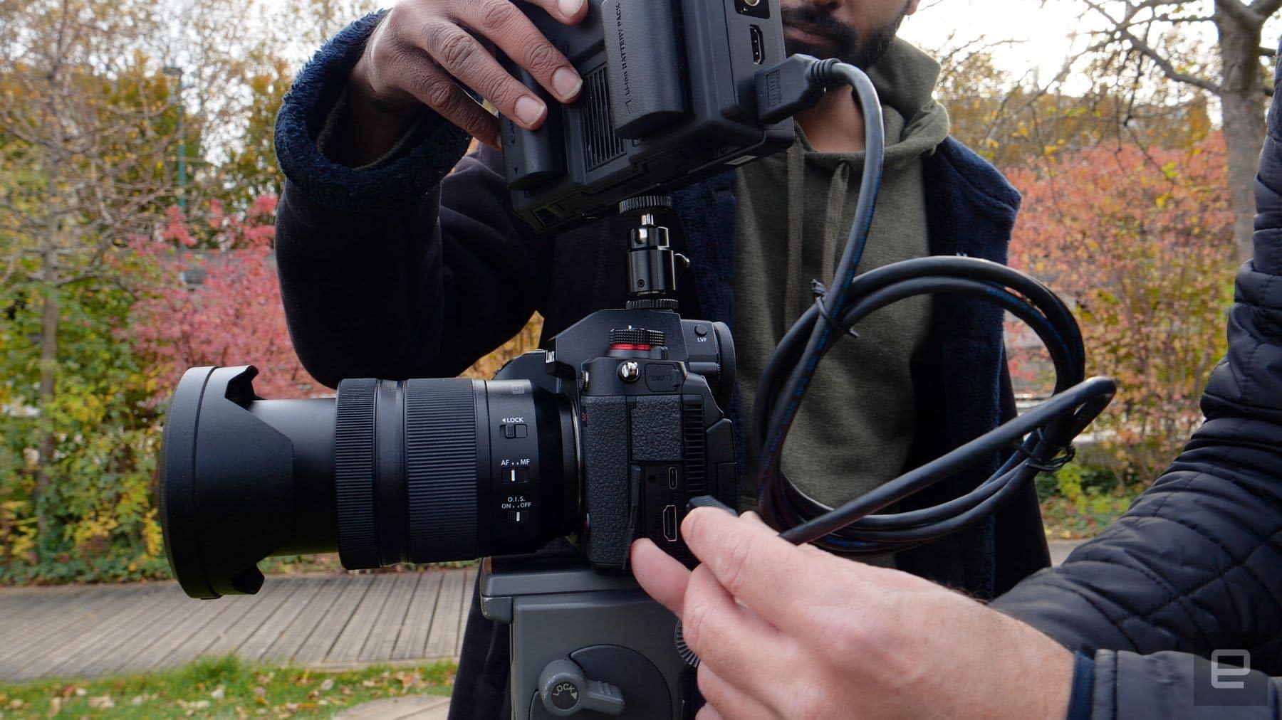 Panasonic S1H full-frame mirrorless camera