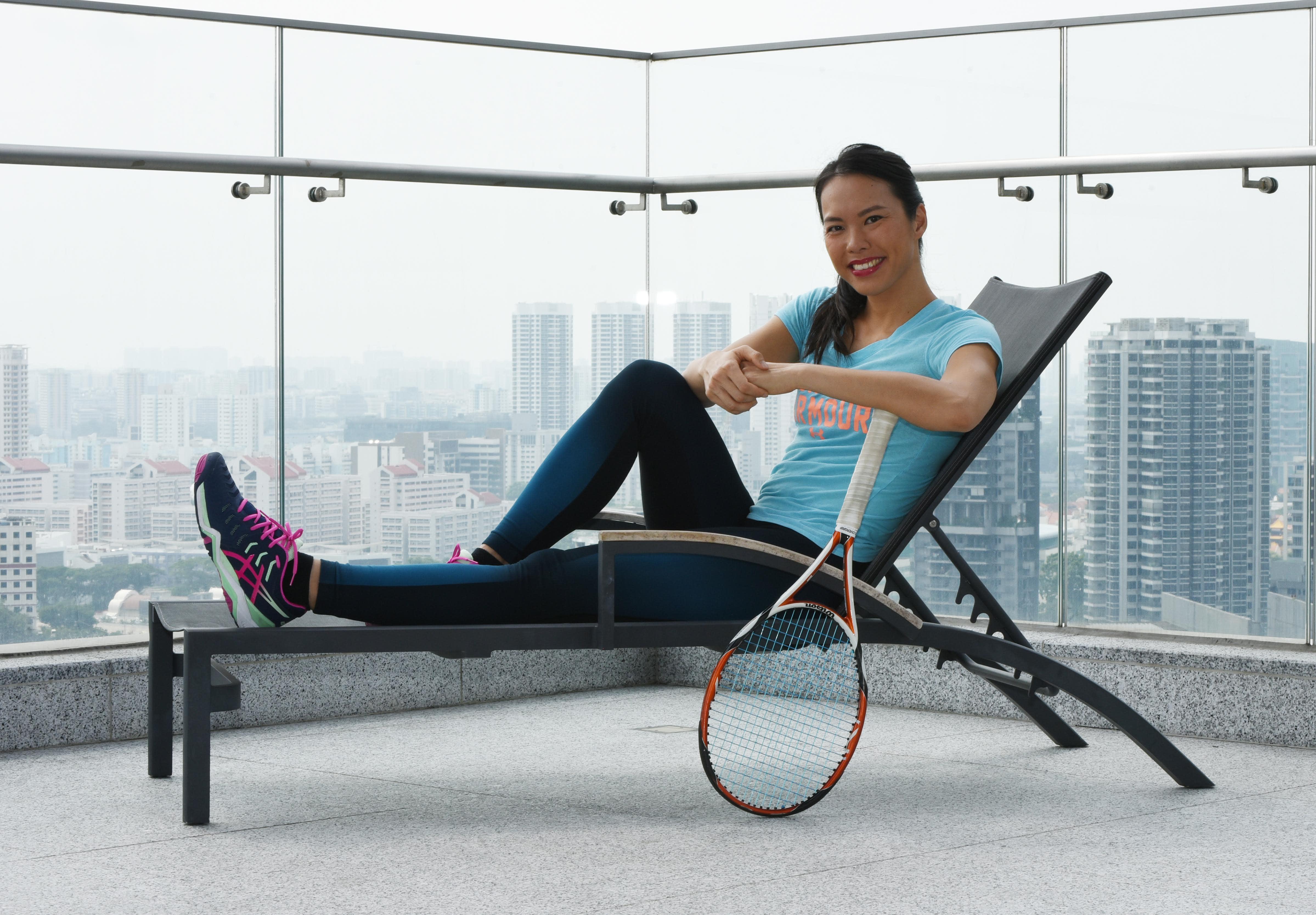Sarah Pang's arduous tennis journey beginning to bear fruits of success
