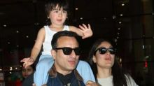 """Saif Ali Khan Scolds Paparazzi On Clicking Taimur Ali Khan, """"Enough, You Are Not Supposed To Do That"""""""