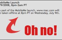 MobileMe launch pushed back two hours