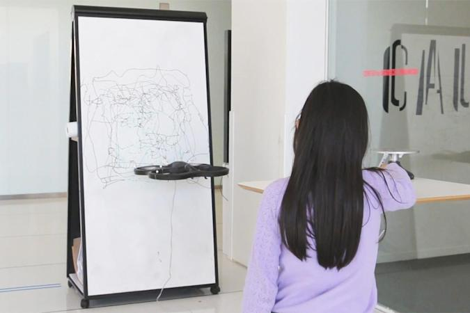 Drawing drone mimics your sketches