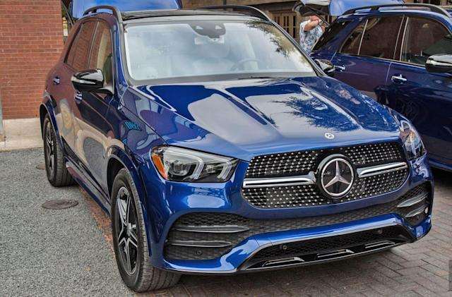 Mercedes' GLE sports impressive suspension technology