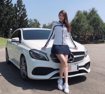 【明星聊愛車】濃濃跑格擄獲芳心!樓心潼鍾情賓士Mercedes Benz A180 AMG-Line