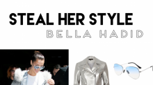 Steal her Style: Der Metallic-Airport-Look von Bella Hadid