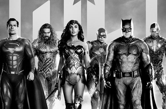 A black-and-white version of 'Justice League' is heading to HBO Max