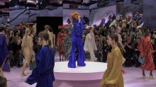 Mulberry stages first see-now, buy-now fashion show at Princess Diana's ancestral London home