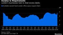 Empresas de Londres alugam espaço de escritórios sem utilidade
