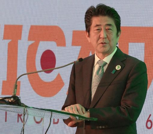 Japan PM pledges to invest $30 bn in Africa by 2018