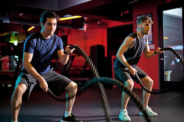 Wearhaus 'social' earbuds share music with your gym buddies