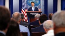 Scaramucci tweets then deletes cryptic message about 'leak' of his financial disclosure form