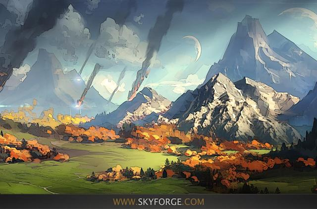 The myth of Skyforge's Celestial Fortress