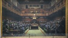 Banksy piece depicting MPs as chimps expected to fetch £2 million at Sotheby's